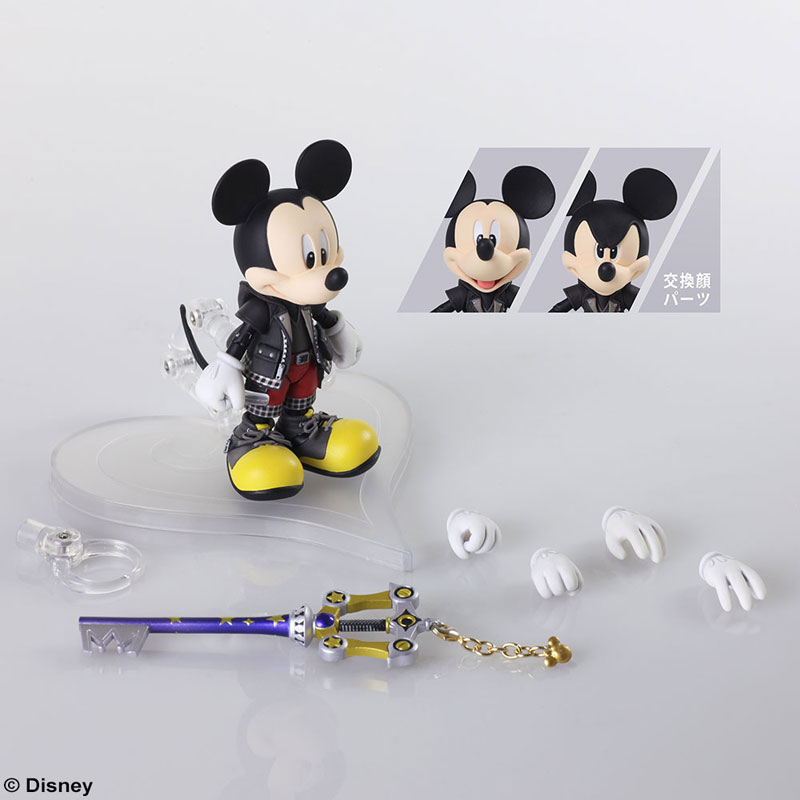 Bring Arts Figure: Kingdom Hearts 3 – Mickey Mouse Figürü Duyuruldu!