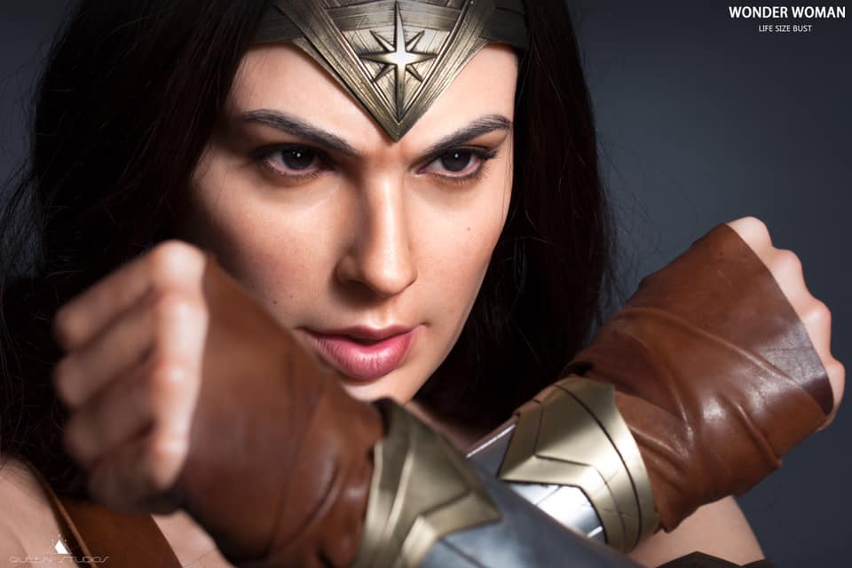 Quenn Studios Collectibles: 1/1 Wonder Woman Büst'ünü Duyurdu!