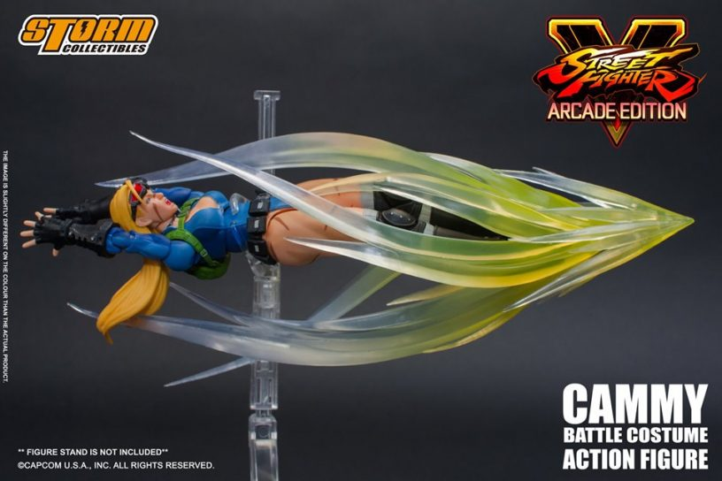 Storm Collectibles: Street Fighter V Arcade Ed. Cammy Figürü Duyuruldu!