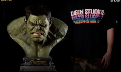 Queen Studios Collectibles: Avengers Infinity War Hulk Büstü Geliyor!