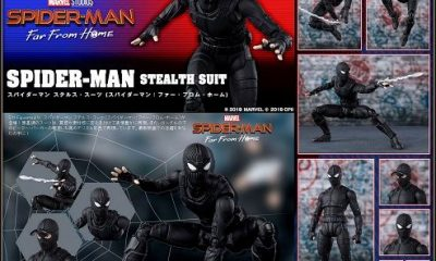Sh Figuarts'tan Spider-Man Far From Home Stealth Suit geliyor!