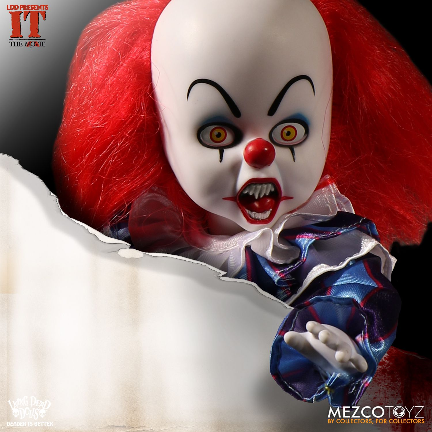 Mezco Toyz: Living Dead Doll's Stephen King's IT Geliyor!