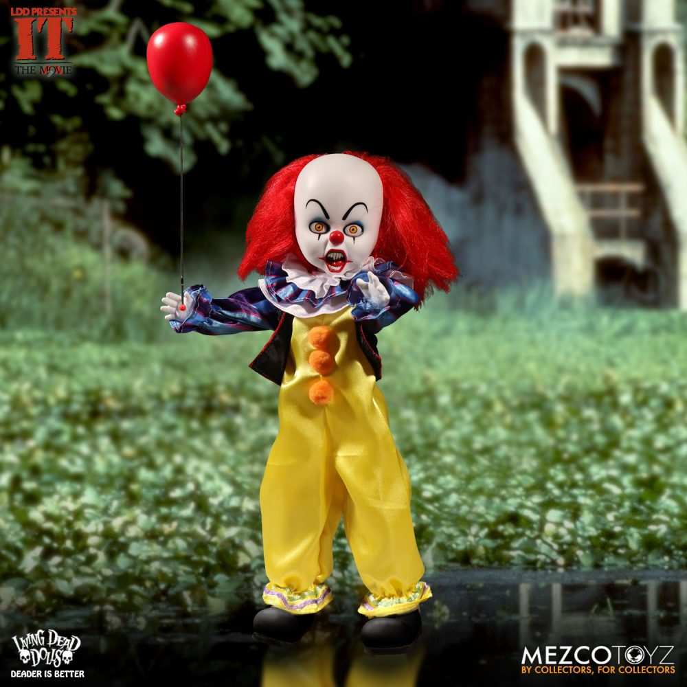 Mezco: Living Dead Doll Stephen King's IT Geliyor!
