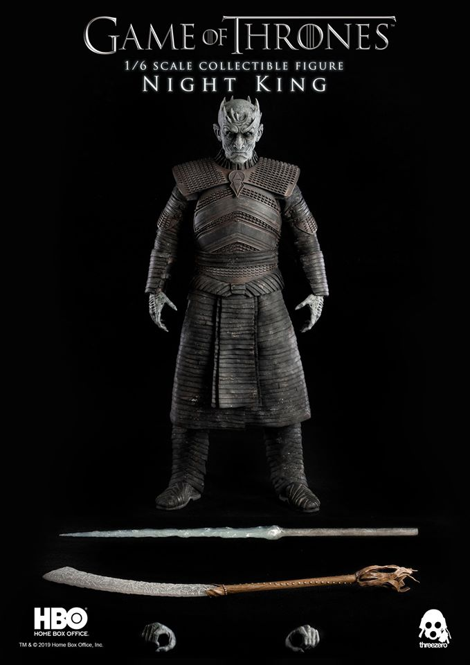 Threezero: Game of Thrones 1/6 Ölçek Night King Figürü Ön-Siparişte!