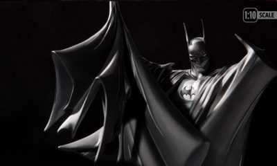 DC Collecitbles: Todd McFarlane 100th Batman Black and White Heykeli Duyuruldu!