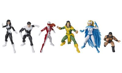 Hasbro Marvel Legends Amazon Exclusive Alpha Flight setini duyurdu !
