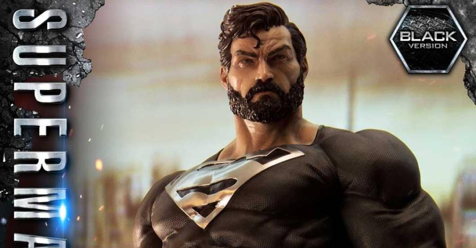 Prime 1 Studio: DC Comics - Black Suit Superman Heykeli Ön Siparişte!