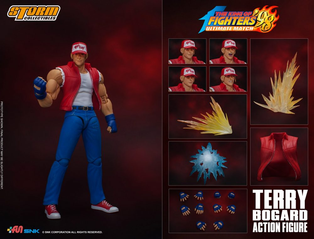 Storm Collectibles: King of Fighters '98 – Terry Bogard