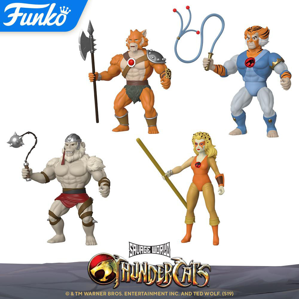Funko Savage World Thundercats Wave 2 Ön siparişe açıldı!