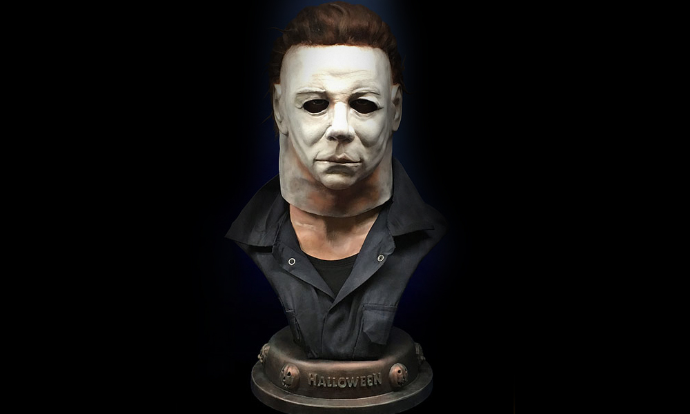 Hollywood Collectibles: Halloween – Life Size Michael Myers Bust!
