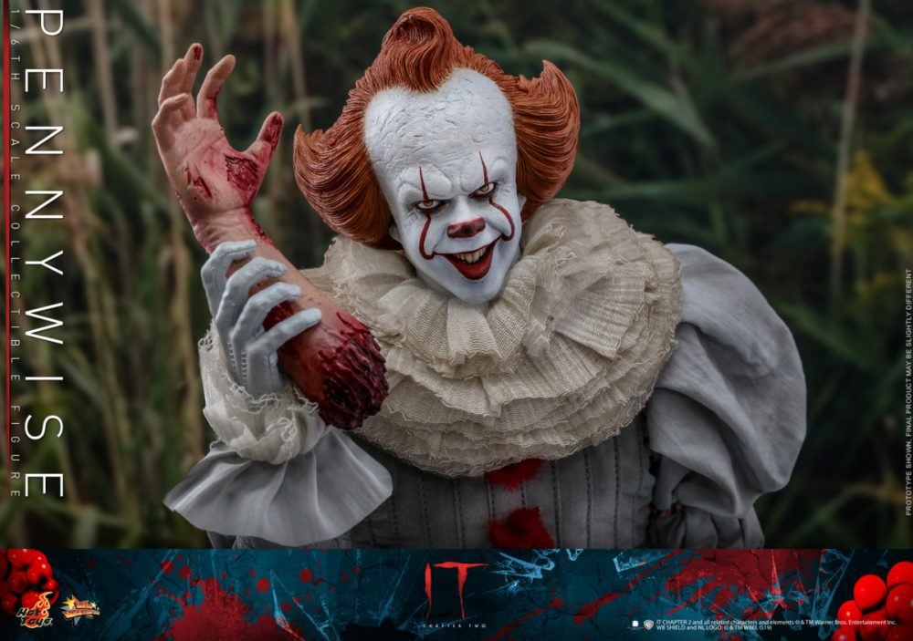 Hot Toys'dan: IT Chapter Two Pennywise Figürü!