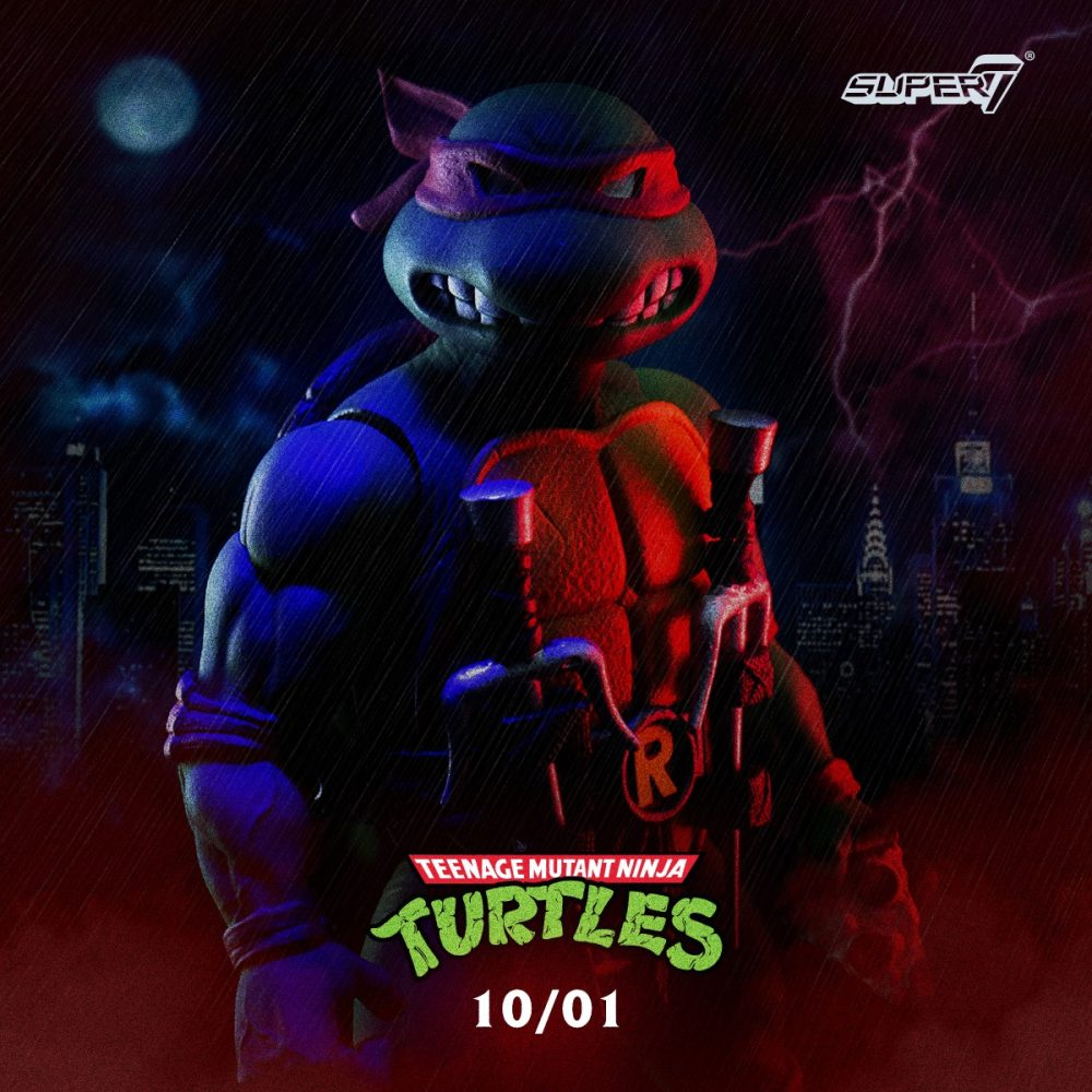 Super 7: Teenage Mutant Ninja Turtles Ön-Siparişe!