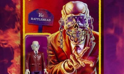 "ReAction Figure: Megadeth ""Peace Sells"" Vic Rattlehead Figürü!"