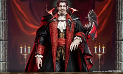 "First 4 Figures: Castlevania: Symphony of the Night ""Dracula"" Heykeli!"