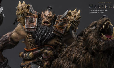 DAMTOYS: Warcraft Movie – Blackhand Riding Wolf Heykeli!