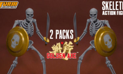 Storm Collectibles'tan Golden Axe - Skeleton 2'li Paketi!