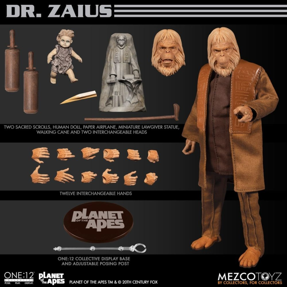 One:12 Collective: Planet of the Apes (1968)- Dr. Zaius