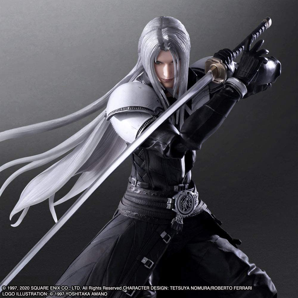 Play Arts Kai: Final Fantasy VII Remake – Sephiroth!