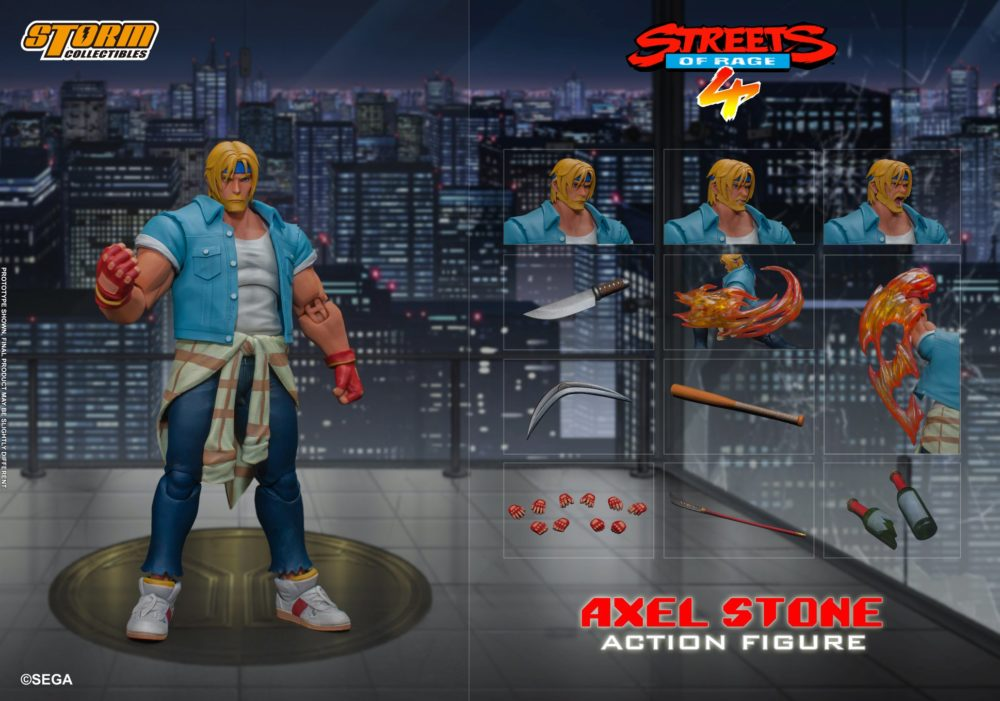 Storm Collectibles: Streets of Rage 4 - Axel Stone