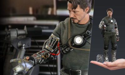 Hot Toys Iron Man Tony Stark (Mech Test Versiyonu)!
